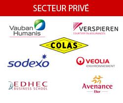 partenaires degraeve secteur privé